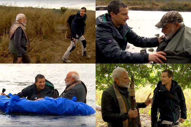 PM Modi rows boat, makes weapon, goes on a wild adventure