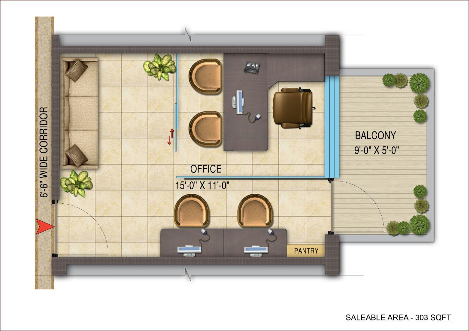 Business Office Floor Plans